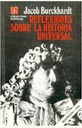 Papel REFLEXIONES SOBRE LA HISTORIA UNIVERSAL