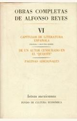 Papel OBRAS COMPLETAS DE ALFONSO REYES, VI