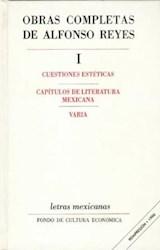 Papel OBRAS COMPLETAS DE ALFONSO REYES, I