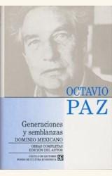 Papel OBRAS COMPLETAS T.4 GENERACIONES Y SEMBLANZAS