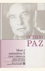 Papel OBRAS COMPLETAS T.10 IDEAS Y COSTUMBRES II