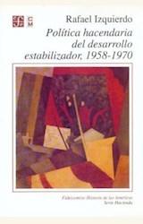 Papel POLÍTICA HACENDARIA DEL DESARROLLO ESTABILIZADOR, 1958-1970