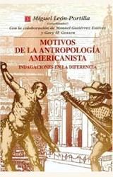 Papel MOTIVOS DE LA ANTROPOLOGÍA AMERICANISTA. INDAGACIONES EN LA