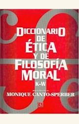 Papel DICCONARIO DE ETICA Y FILOSOFIA MORAL K-Z