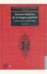 Papel SINTAXIS HISTORICA DEL ESPAÑOL I PRIMERA PARTE: LA FRASE VER