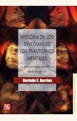 Papel HISTORIA DE LOS SÍNTOMAS DE LOS TRASTORNOS MENTALES