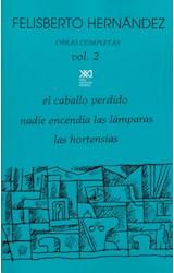 Papel OBRAS COMPLETAS 2 (HERNANDEZ FELISBERTO)
