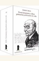 Papel PROSA TEMPRANA Y OBRAS POSTUMAS PUBLICADAS EN VIDA