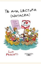 Papel TE AMO, LECTURA (NATACHA)