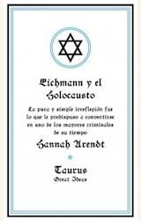 Papel EICHMAN Y EL HOLOCAUSTO