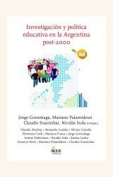 Papel INVESTIGACIÓN Y POLÍTICA EDUCATIVA EN LA ARGENTINA POST-2000