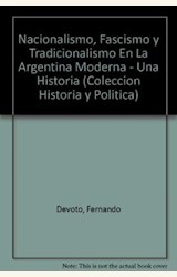 Papel NACIONALISMO, FASCISMO Y TRADICIONALISMO EN LA ARG.MODERNA