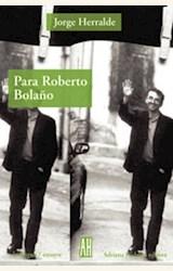 Papel PARA ROBERTO BOLAÑO