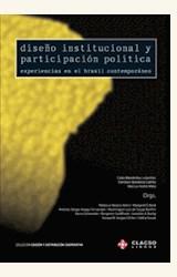 Papel DISEÑO INSTITUCIONAL Y PARTICIPACION POLITICA