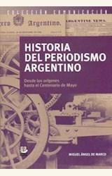 Papel HISTORIA DEL PERIODISMO ARGENTINO