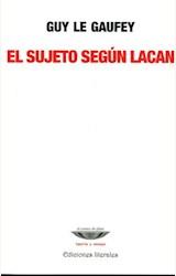 Papel EL SUJETO SEGUN LACAN