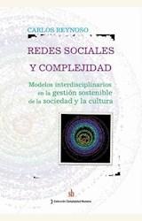 Papel REDES SOCIALES Y COMPLEJIDAD