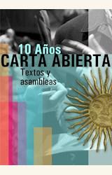 Papel CARTA ABIERTA. 10 AÑOS. TEXTOS Y ASAMBLEAS