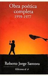 Papel OBRA POETICA COMPLETA 1959-1977 (SANTORO)