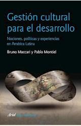 Papel GESTION CULTURAL PARA EL DESARROLLO