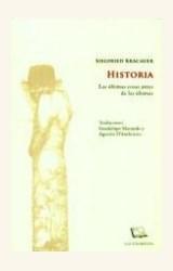 Papel HISTORIA. LAS ULTIMAS COSAS ANTES DE LAS ULTIMAS