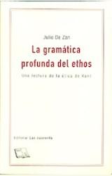 Papel LA GRAMATICA PROFUNDA DEL ETHOS