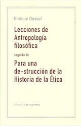 Papel LECCIONES DE ANTROPOLOFÍA FILOSÓFICA