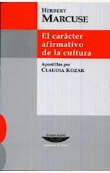 Papel EL CARACTER AFIRMATIVO DE LA CULTURA