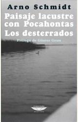 Papel PAISAJE LACUSTRE CON POCAHONTAS. LOS DESTERRADOS