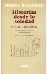 Papel HISTORIAS DESDE LA SOLEDAD Y OTRAS NARRACIONES