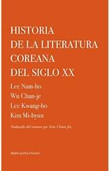 Papel HISTORIA DE LA LITERATURA COREANA DEL SIGLO XX
