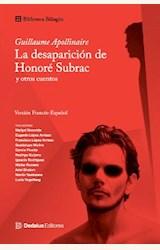 Papel LA DESAPARICION DE HONORE SUBRAC