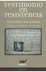 Papel TESTIMONIO EN RESISTENCIA
