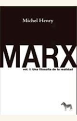 Papel MARX VOL 1 UNA FILOSOFIA DE LA REALIDAD