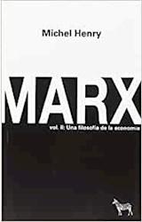 Papel MARX. VOLUMEN II: UNA FILOSOFÍA DE LA ECONOMÍA