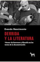 Papel DERRIDA Y LA LITERATURA
