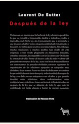 Papel DESPUÉS DE LA LEY