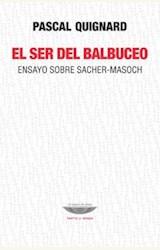 Papel EL SER DEL BALBUCEO