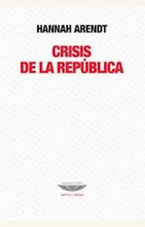 Papel CRISIS DE LA REPUBLICA