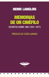 Papel MEMORIAS DE UN CINEFILO