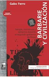Papel BARBARIE Y CIVILIZACION