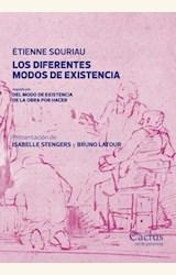 Papel LOS DIFERENTES MODOS DE EXISTENCIA