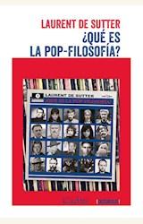 Papel ¿QUE ES LA POP-FILOSOFIA?