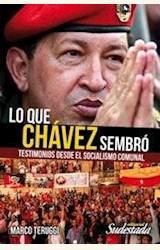 Papel LO QUE CHAVEZ SEMBRO