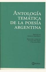 Papel ANTOLOGÍA TEMÁTICA DE LA POESÍA ARGENTINA