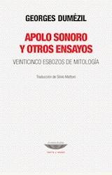Papel APOLO SONORO Y OTROS ENSAYOS