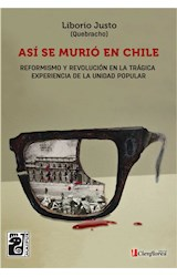 E-book Así se murió en Chile
