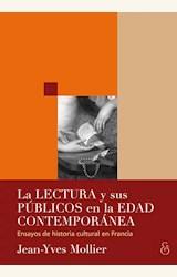 Papel LA LECTURA Y SUS PUBLICOS EN LA EDAD CONTEMPORANEA