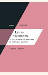 Papel LETRAS HILVANADAS