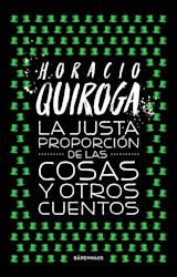 Papel LA JUSTA PROPORCION DE LAS COSAS Y OTROS CUENTOS